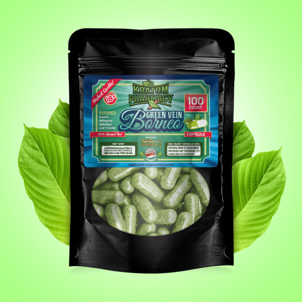 Green Borneo Capsule - 100 count