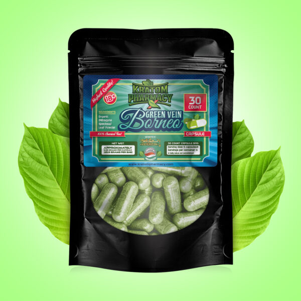 Green Borneo Capsule - 30 count