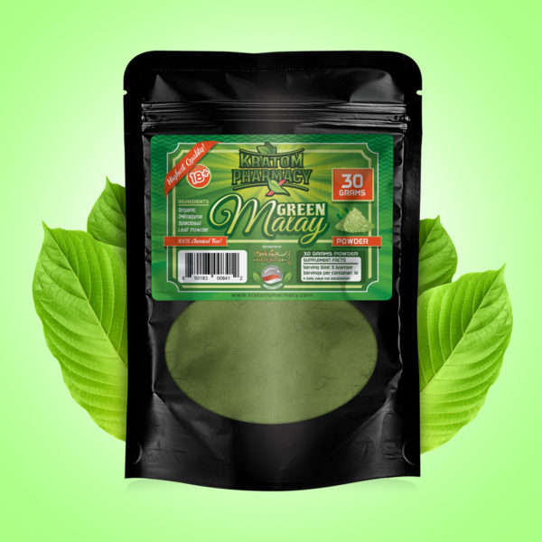 Green Malay - 30 gram powder