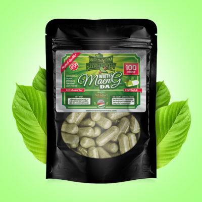White Maeng Da capsules - 100 count