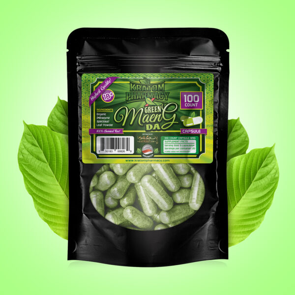 Green Maeng Da - 100 count
