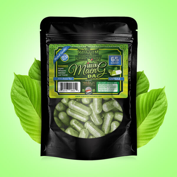 Green Maeng Da - 65 count