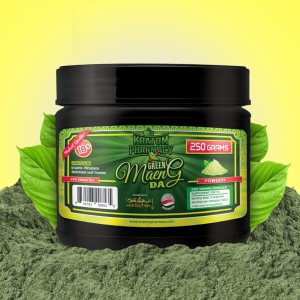 Green Maeng Da - 250 gram powder