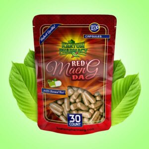 Red Maeng Da capsules - 30 count