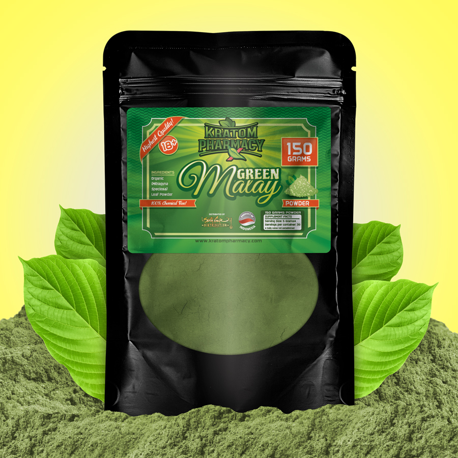 Green Malay - 150 gram powder