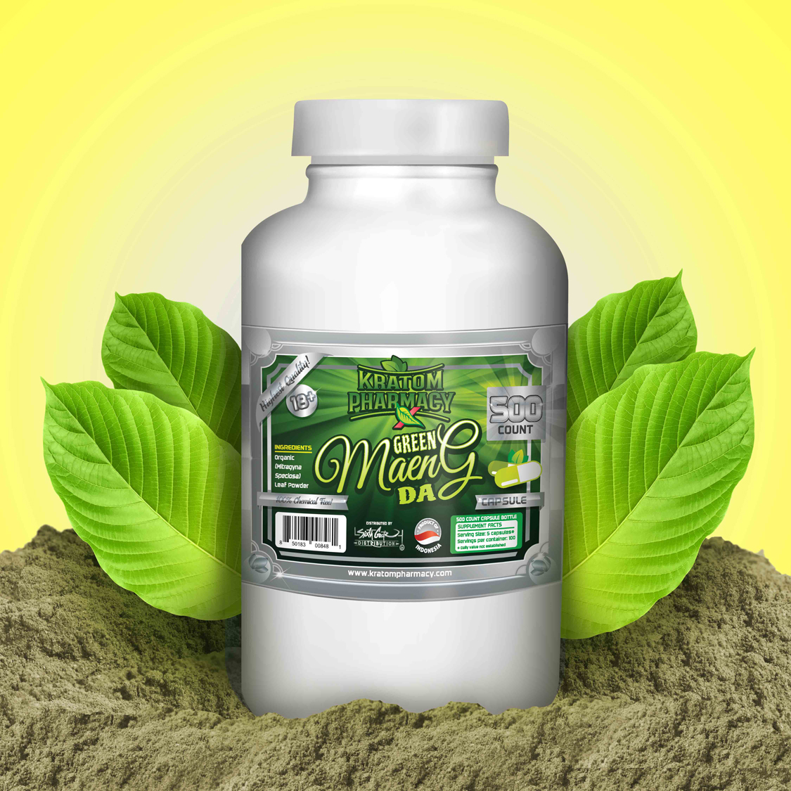 Green Maeng Da - 500 count