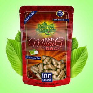 Red Maeng Da capsules - 100 count