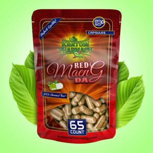 Red Maeng Da capsules - 65 count