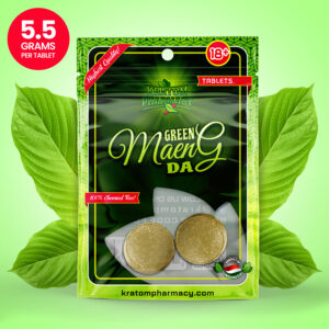 Green Maeng Da Kratom Tablets - 2 count